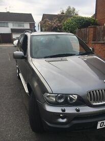 2004 BMW X5 4.4 petrol Sport semi auto Facelift