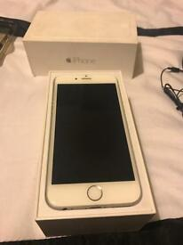 iPhone 6 silver/white 16gb unlocked