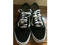 Vans canvas worn twice size 13