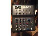 alesis multimix 4 usb fx mixing desk