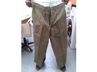 Men working trousers in different sizes job lot each £2.00