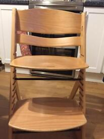 OBaby grow with me high chair