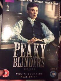 Peaky Blinders season 2 DVD