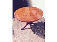 Beautiful circular table
