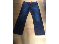 "Men's HUGO BOSS Orange Label HB1 Jeans Waist 34"" W34 Leg 32"" Never Worn"