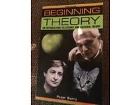 BEGINNING THEORY - PETER BARRY BOOK