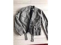 Beautiful linen jacket size 14