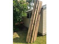 Dismantled sleeper /large wood planks
