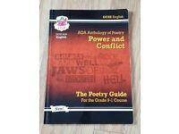 GCSE (9-1) AQA ENGLISH ANTHOLOGY OF POETRY (POWER & CONFLICT)
