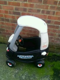 Little tikes police cosy coupe