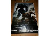 Transformer The Last Knight movie poster Giant 120cm x 180cm