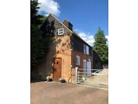 Self contained office in secure rural setting near Farnham