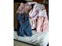 Pre loved Girls clothes 0-3/3-6 mth. Gap/JoJo Maman/TU/Ella & Otto GC