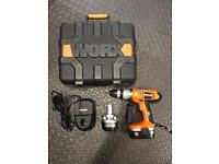 WORX 18v WX18HD Cordless Hammer Drill.