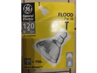Brand New Par 38 Flood lamps E27 General Electric Watt-Miser