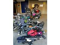 Job lot of 10 buggies** more available ideal for ebay or carboot sales