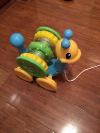 Little Tikes pull along toy for baby/toddler