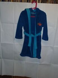 "Kids ""Cars"" Dressing Gown (6-7 yrs)"
