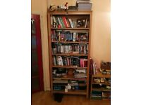 HEMNES bookcase - clear wood colour