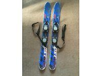 Mini skis-blades