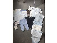 Baby boys clothing 0-3 months