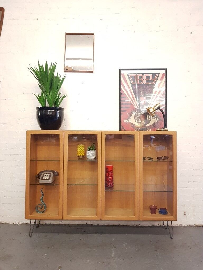 Danish Vintage Oak Mid Century Bookcase Cabinet In South East London London Gumtree