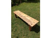 "Garden bench 6""ft"