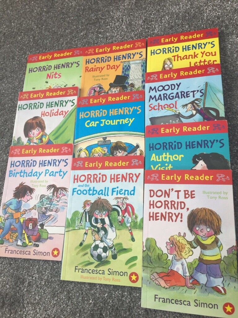 Horrid henry early reader book set in canary wharf london gumtree horrid henry early reader book set expocarfo