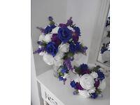 Scottish Brides Bouquet and Posy