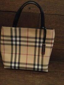 Original authentic Burberry tote bag