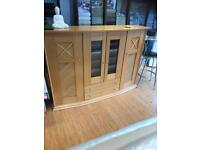 Cabinet with light inside rrp ££££