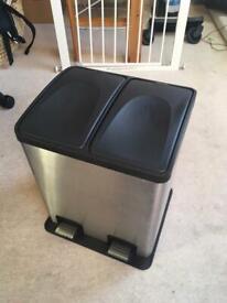 Kitchen Double Pedal Bin