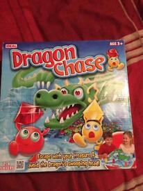 Dragon chase game