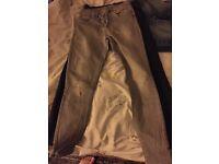 4 PAIRS size 10 light grey pair, 2 dark pairs, skinny x1 light , Next and H&M