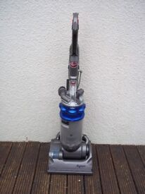 DYSON DC14 MET BLUE UPRIGHT BAGLESS VACUUM, FULLY CLEANED, WITH TOOLS AND NEW MOTOR