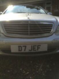 PRIVATE NUMBER PLATE D7 JEF