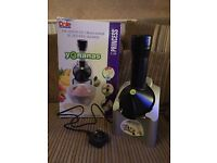 Yonanas Ice Cream/ Smoothie Maker. Comes with Instruction Manual & Recipe Booklet.
