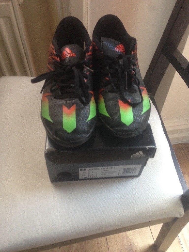 Messi Adidas Football shoes Junior 15.4 Turf - UK 3