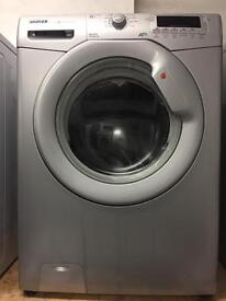 Hoover silver good looking 8kg 1600spin washing machine cheap