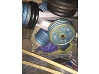 Weights for sale can negotiate on price