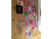Shopkins bundle large. Figures, bags