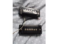 P90 style pickups