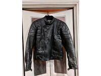 """40"""" Leather motorbike jacket"""
