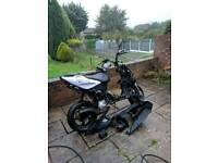 Yamaha aerox 2013 50cc breaking for spares