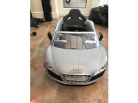 Audi R8 Spyder push buggy with canopy