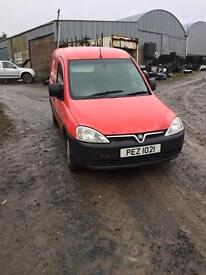 07 Vauxhall combo 1.3 cdti motd to august 17 needs tidied