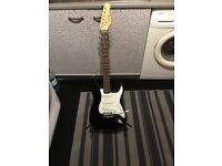 Encore Stratocaster style guitar £35 cash