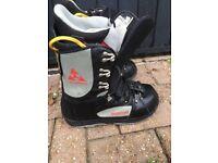 Size 9 burton progression snowboard boots