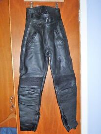 Ladies Belstaff Motorcycle Leathers in lovely condition - Size 12 (ish)