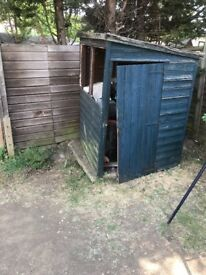 Need someone to put the shed up!